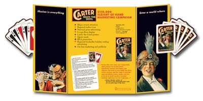 Carter Beats the Devil brochure flat