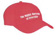 hat for The Mighty Queens of Freeville